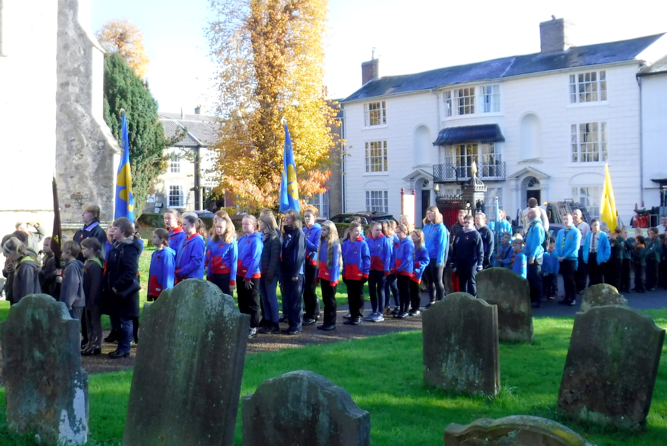 Remembrance Sunday Guides + Beavers